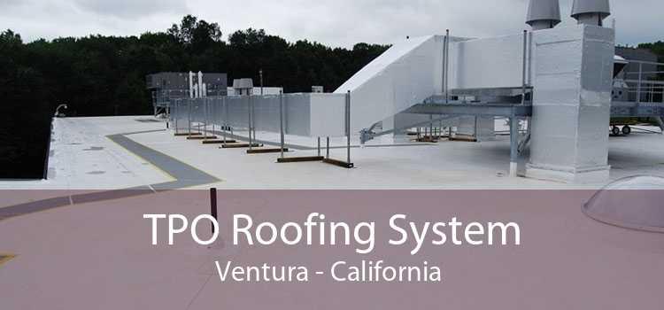TPO Roofing System Ventura - California
